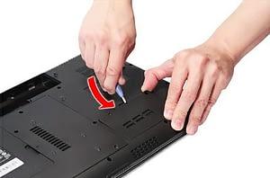 Подготовка. Этап 2. Чистка ноутбука от пыли, замена термопасты.